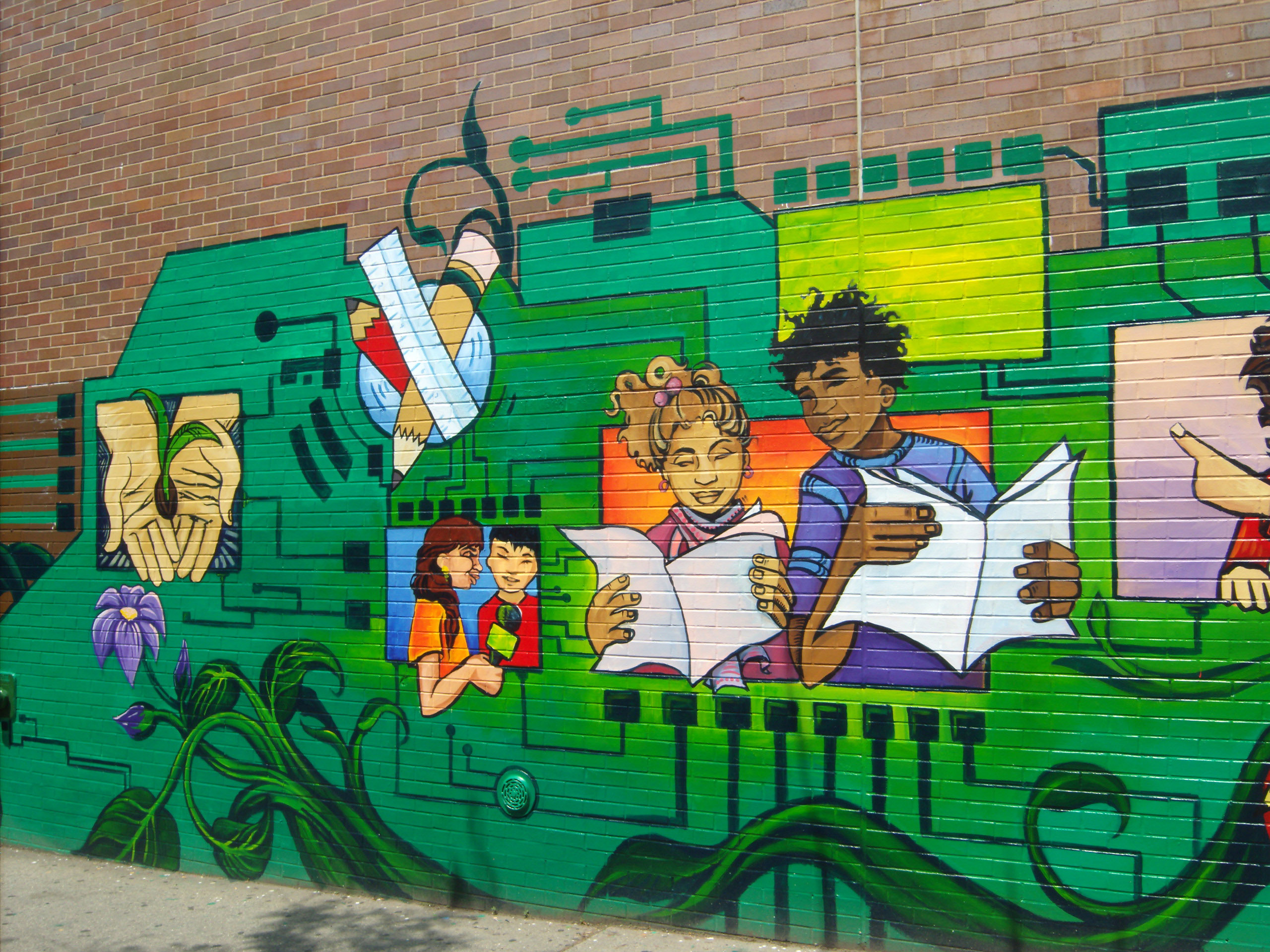 Community Mural Project Of Groundswell Community Mural Project