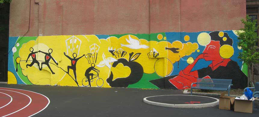 Groundswell community mural project for Community mural ideas